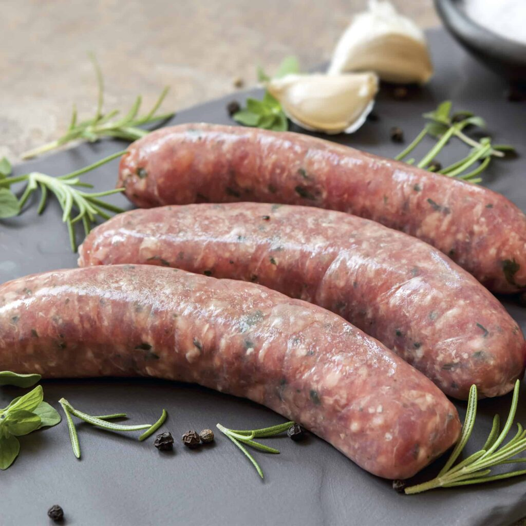 Pork & Chive Sausages