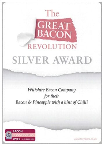 Great Bacon Revolution - Silver Award